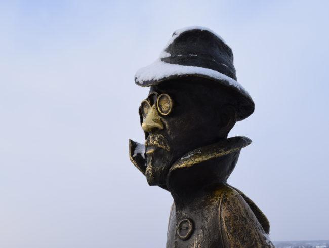 Скульптурная композиция «А.П. Чехов»