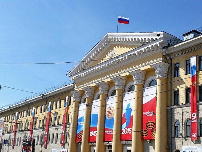 Томск украсят ко Дню Победы до 25 апреля