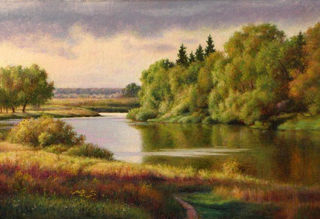 До 25 мая в Томском художественном музее действует выставка живописи и графики художника-фронтовика Николая Лисицына