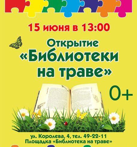 «Библиотека на траве» откроется в Академгородке