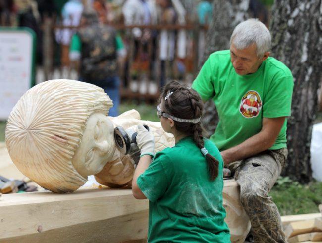 С 21 по 26 августа пройдет XI Международный фестиваль народных ремесел «Праздник топора»