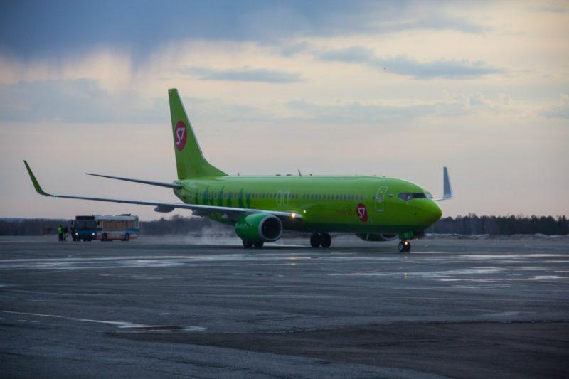 Зимнее расписание рейса S7 Airlines Томск-Новосибирск