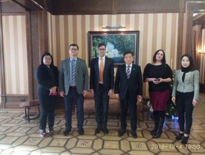 Томск посетила южнокорейская делегация из города-побратима Ульсан