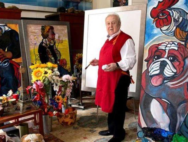 11 апреля в Томске открывается выставка эмалей Зураба Церетели «Евангельские сюжеты»
