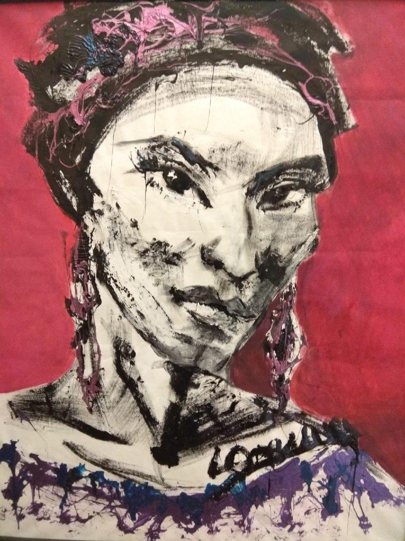 Выставка томских молодых художников в Доме искусств.