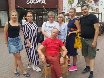 Делегация журналистов и блогеров посетила Томск.