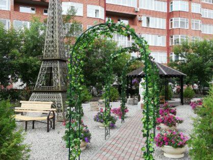 «Сквер любви» в Томске