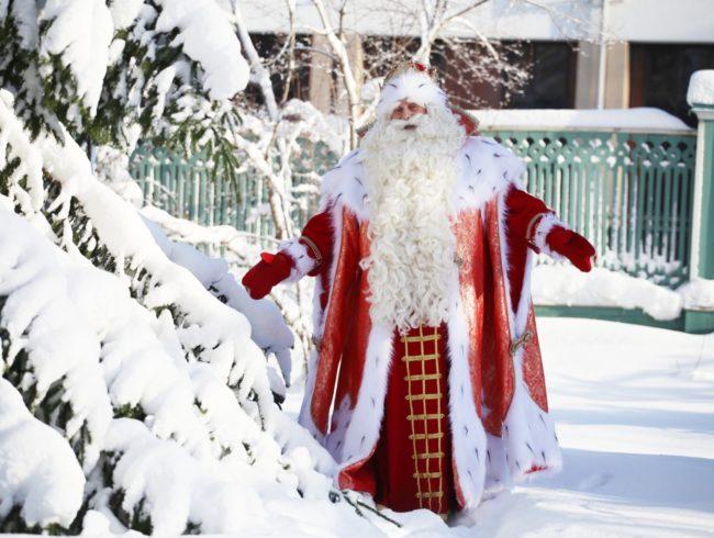 Дедушка Мороз едет в Томск