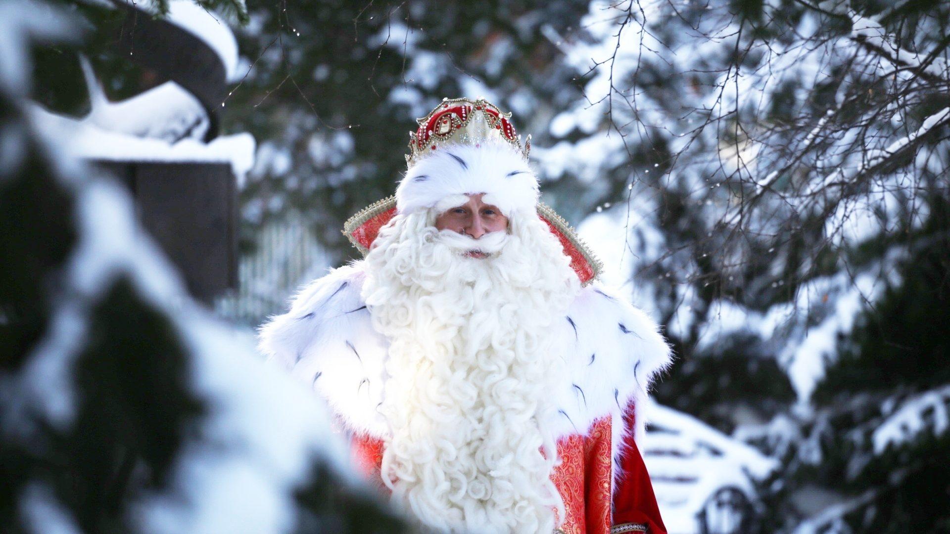 Дед Мороз из Великого Устюга в Томске