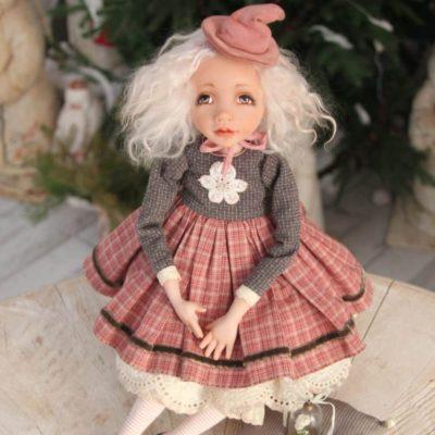 Курс «Будуарная кукла. Ведьмочка Селена» в мастерской Скворечник