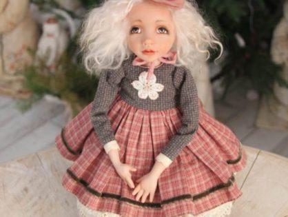 """Курс """"Будуарная кукла. Ведьмочка Селена"""" в мастерской Скворечник"""