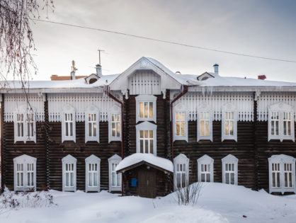 Музеи зимой