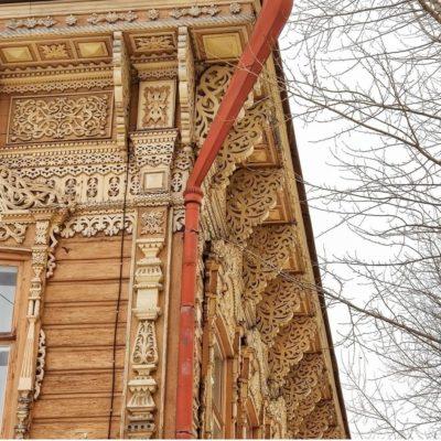 Онлайн экскурсия «Деревянная архитектура Томска»