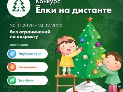 Конкурс новогодних творческих работ «Ёлки на дистанте – 2020»